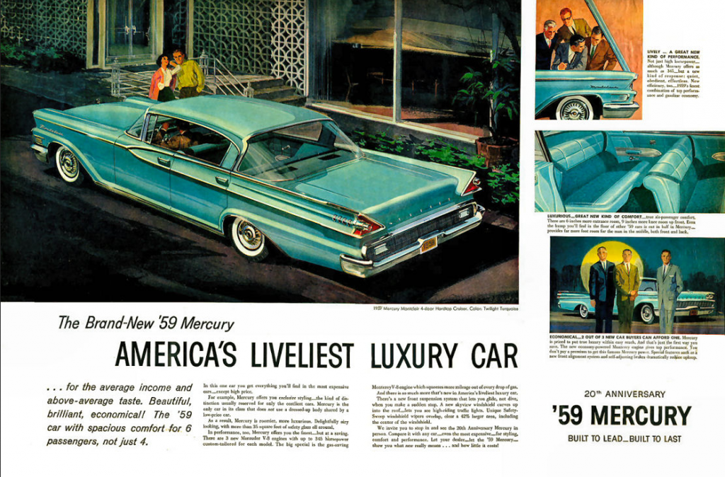 Model-Year Madness! 10 Classic Ads From 1959 | The Daily ...