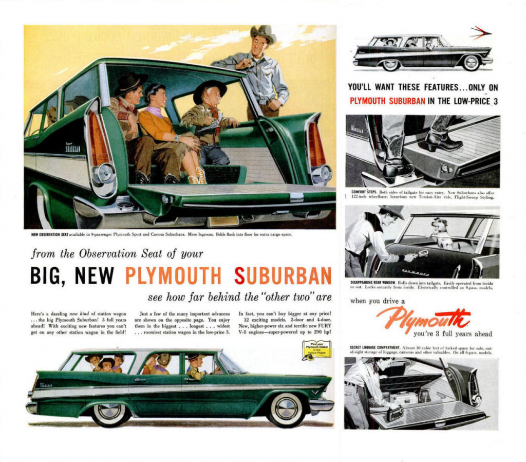 1957 Plymouth Ad