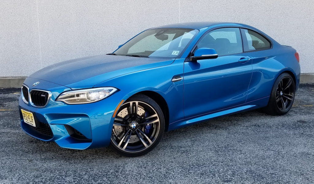 2016 Bmw M2 In Long Beach Blue