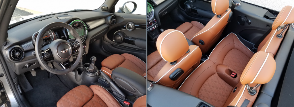 2016 Mini Copper Convertible interior