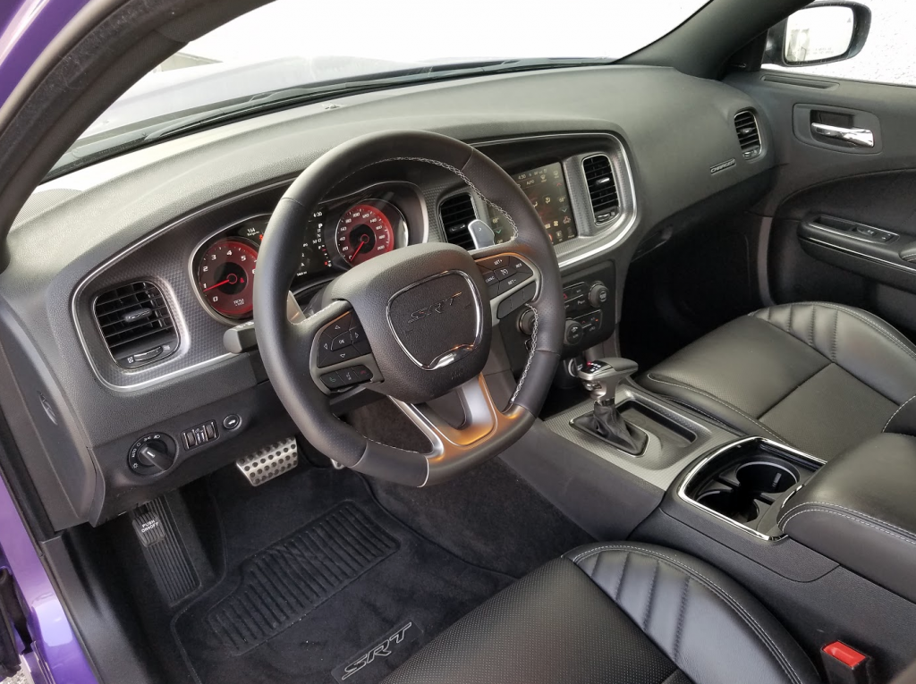 Hellcat Charger Cabin