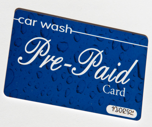 Car Wash Gift Card