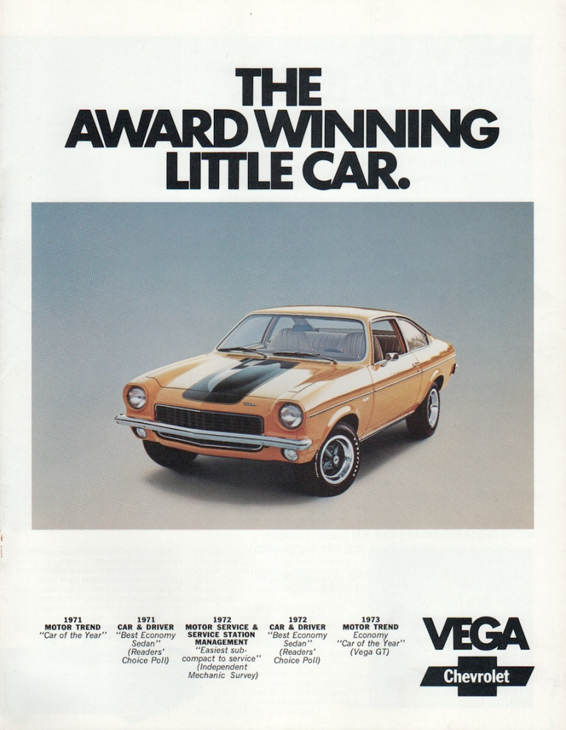 All Chevy 73 chevy vega : The Chevrolet Brochure Covers of 1973 | The Daily Drive | Consumer ...
