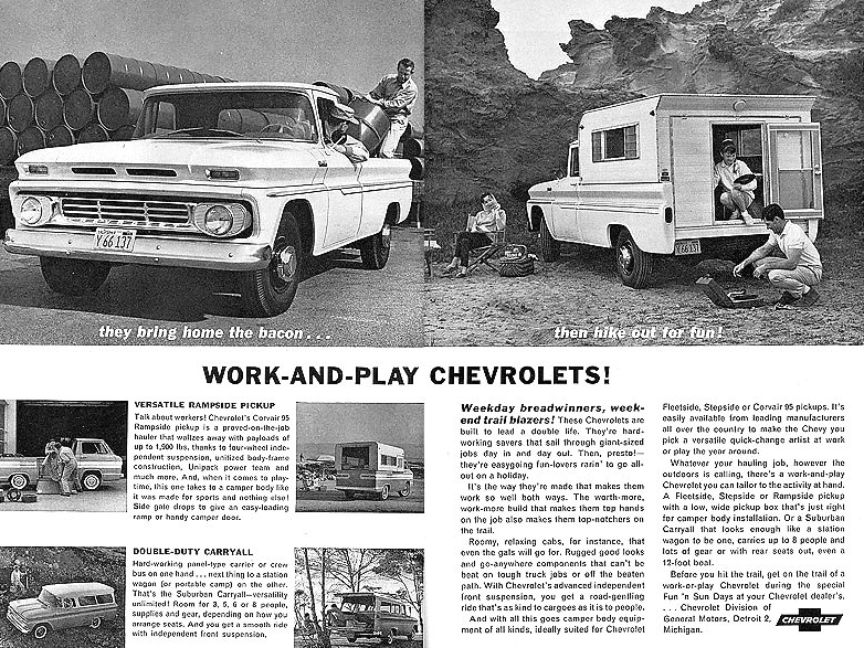 1962 Chevrolet Pickup Ad