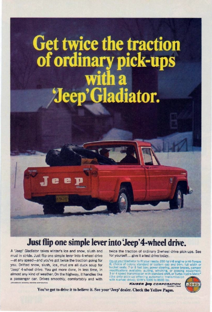 1966 Jeep Gladiator Ad