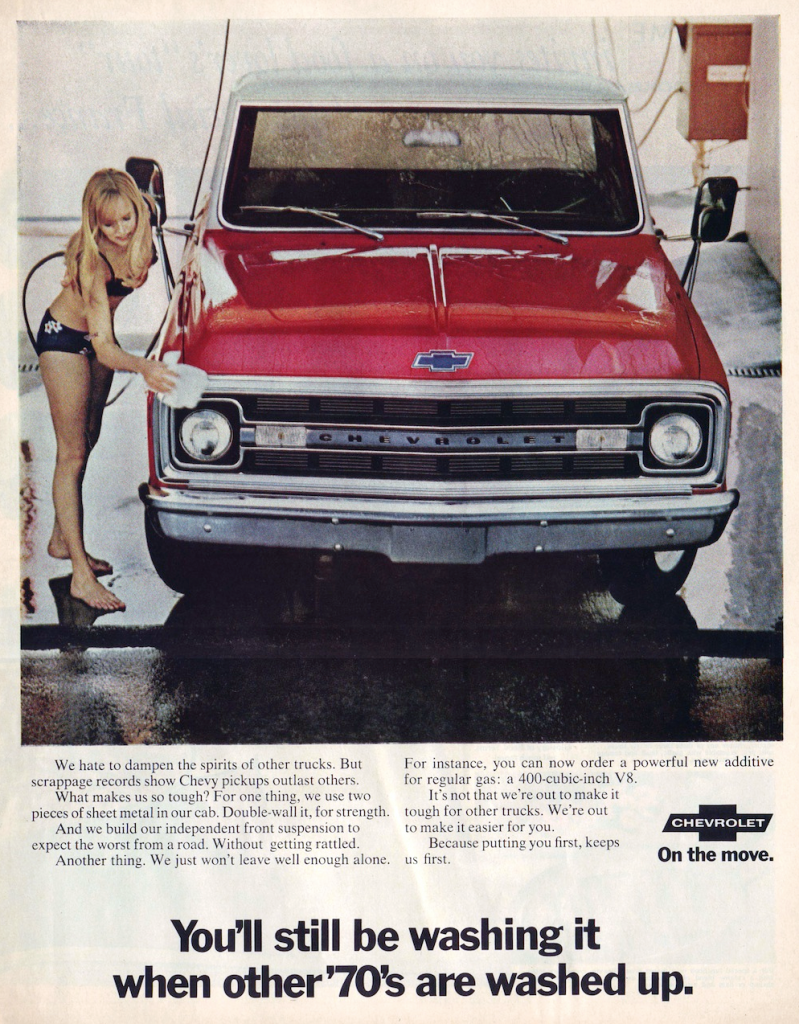 1970 Chevrolet Truck Ad