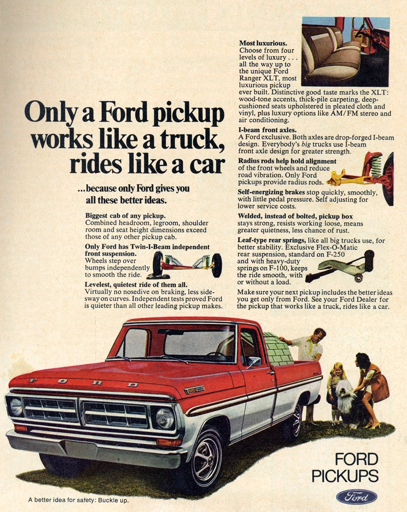 1971 Ford Truck Ad