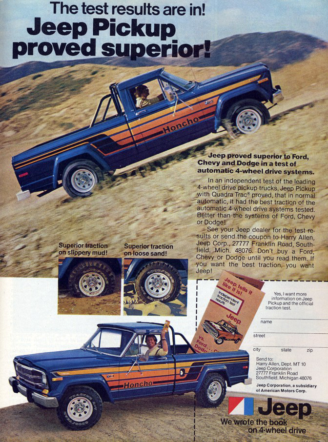 Toyota Diesel Truck >> '70s Madness! 10 Years of Classic Pickup Truck Ads | The ...