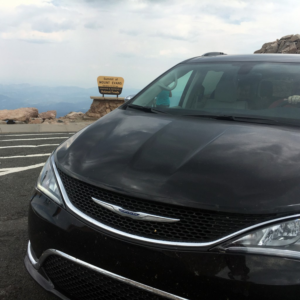 2017 Pacifica on Mount Evans