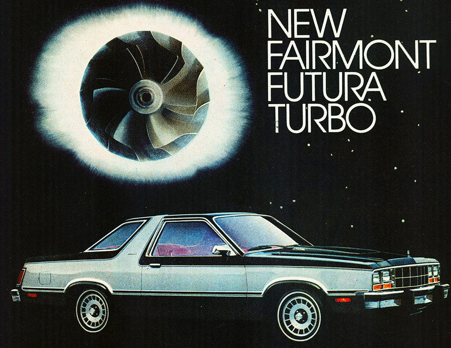 1980 Ford Fairmont Futura Ad, Turbocharged Vehicles