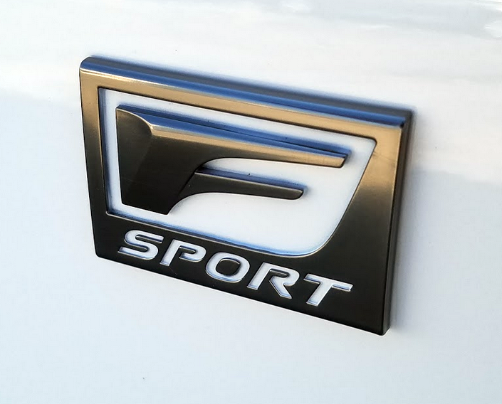 Lexus F Sport Badge