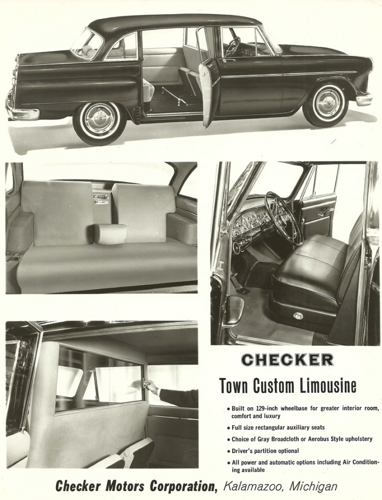 1965 Checker Ad