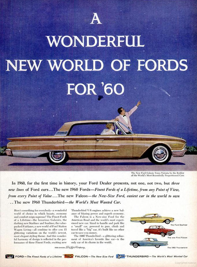 Model Year Madness 10 Classic Ads From 1960 The Daily