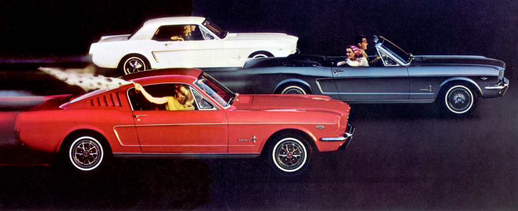 1965 Ford Mustang ad