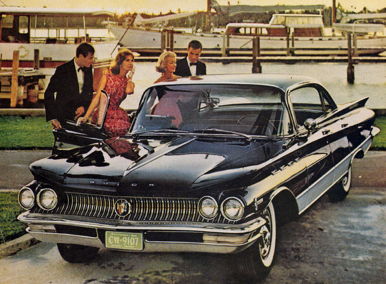 1960 Buick Ad, Classic Ads From 1960
