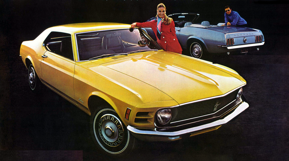1970 Ford Mustang, 1970 Sporty Compacts