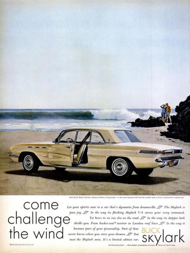 Model-Year Madness! 10 Classic Ads From 1961 | The Daily ...