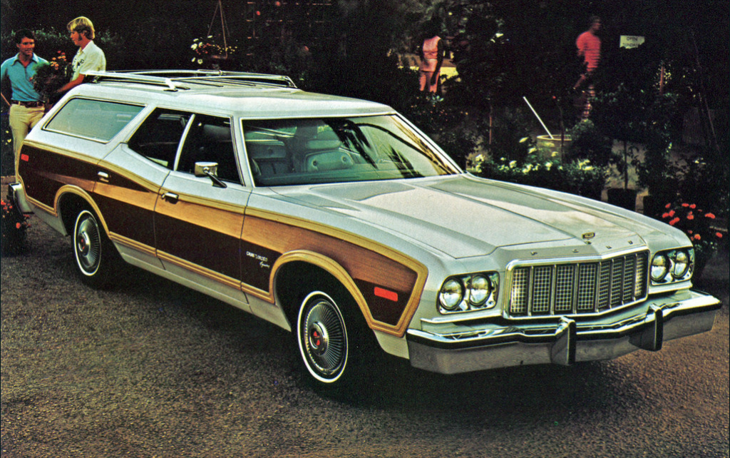 1976 Ford Gran Torino Brougham Squire