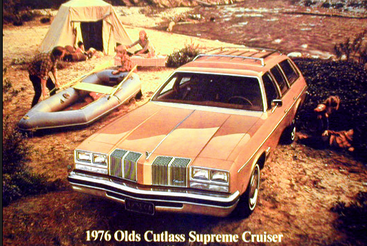 1976 Oldsmobile Cutlass Supreme Wagon