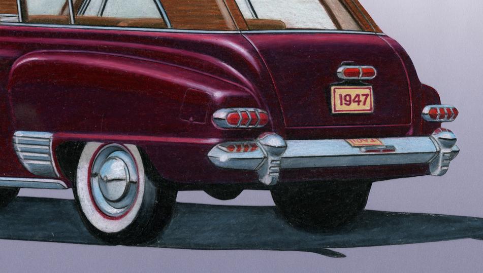 1947 Studebaker Wagon Concept,