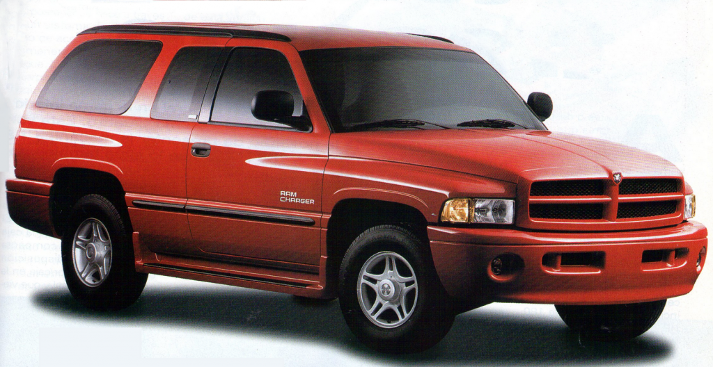1999 Dodge Ramcharger, The Mexico-Only Ramcharger