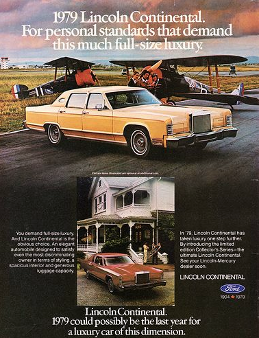 1979 Continental ad