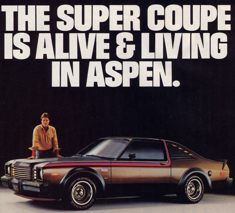 Malaise Muscle: 1976-1980 Dodge Aspen R/T and Plymouth