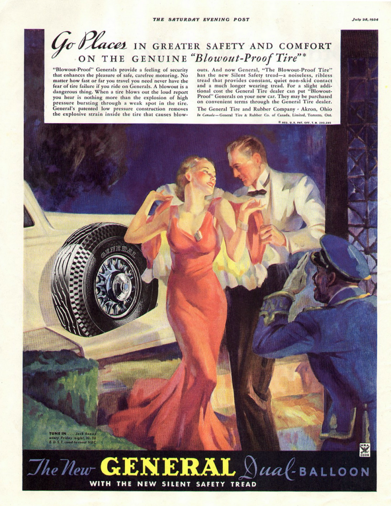 1934 General Tire Ad