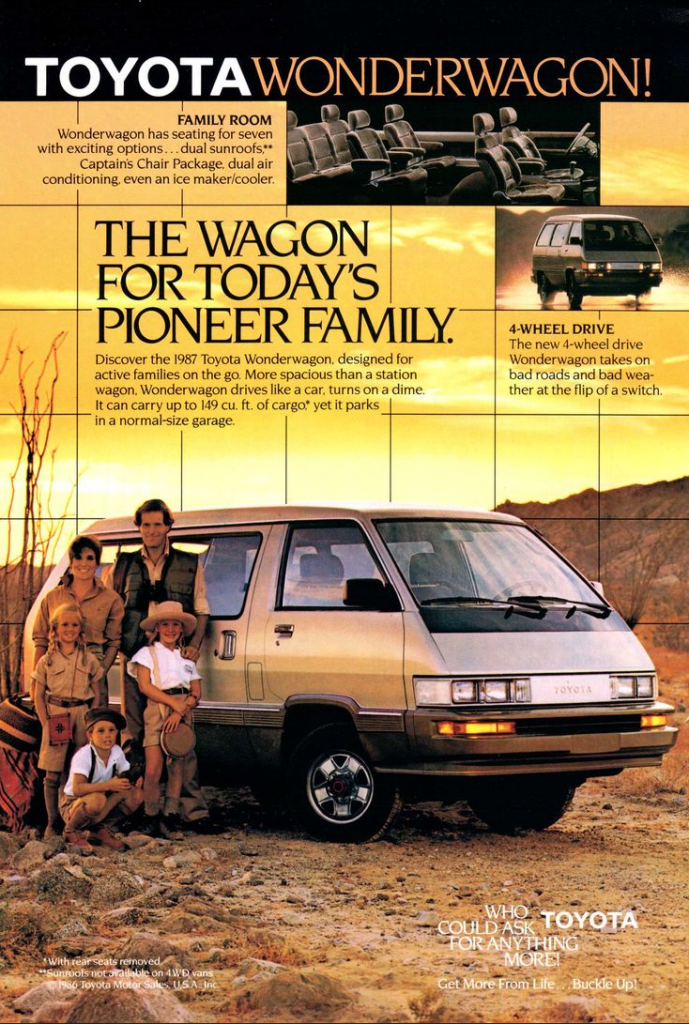 1987 Toyota Wonderwagon