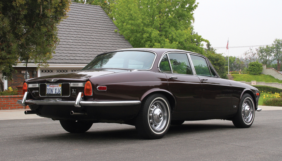 1970 Jaguar XJ6 rear 3/4