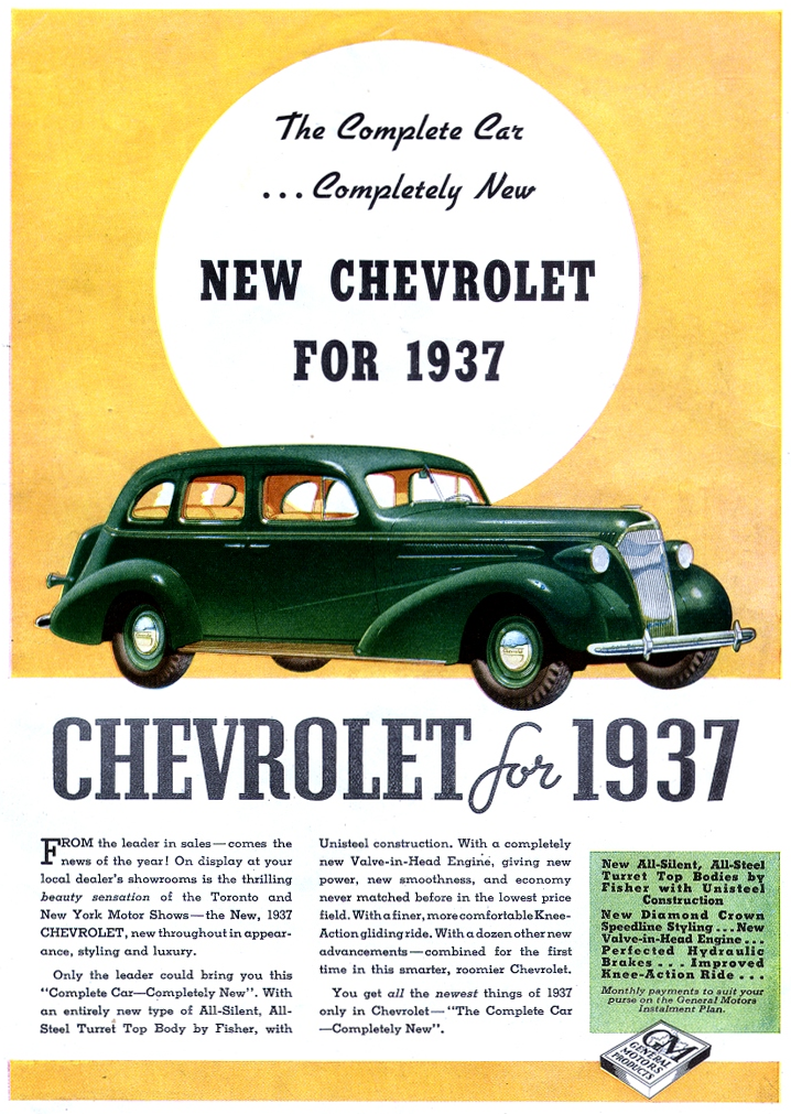 Bow-Tie Madness! 12 Classic Chevrolet Ads | The Daily ...