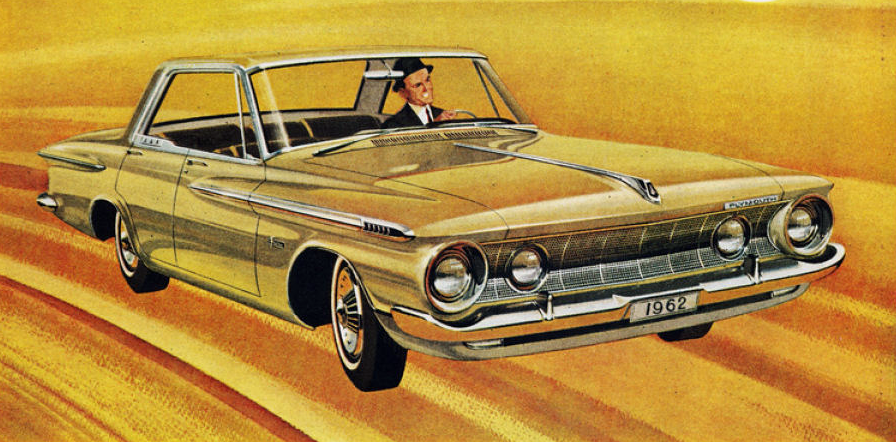 Detail of 1962 Plymouth Ad, Classic Ads From 1962