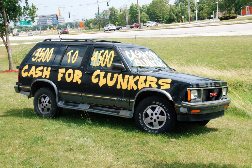 Cash for Clunkers Truck