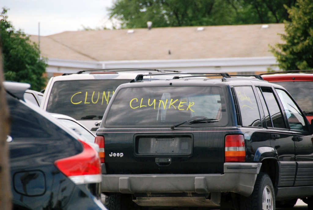 Cash for Clunkers vehicle