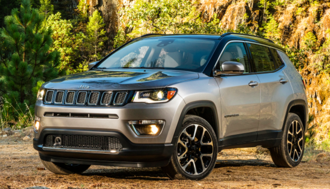 2017 jeep compass the daily drive consumer guide. Black Bedroom Furniture Sets. Home Design Ideas