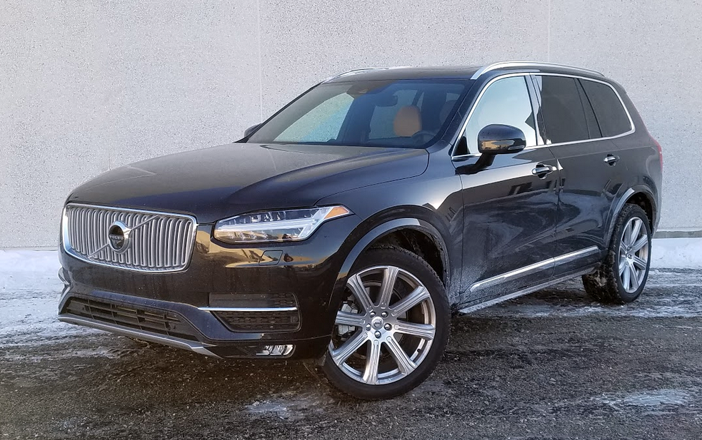 Test Drive: 2017 Volvo XC90 Inscription | The Daily Drive | Consumer Guide® The Daily Drive ...