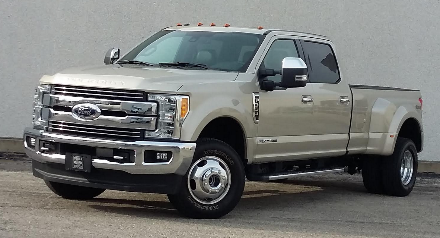 2017 Ford F 350 Super Duty Lariat Crew Cab
