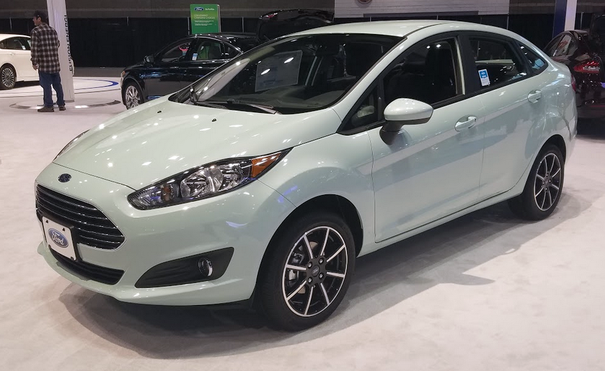 2017 Ford Fiesta sedan in Bohai Bay Mint