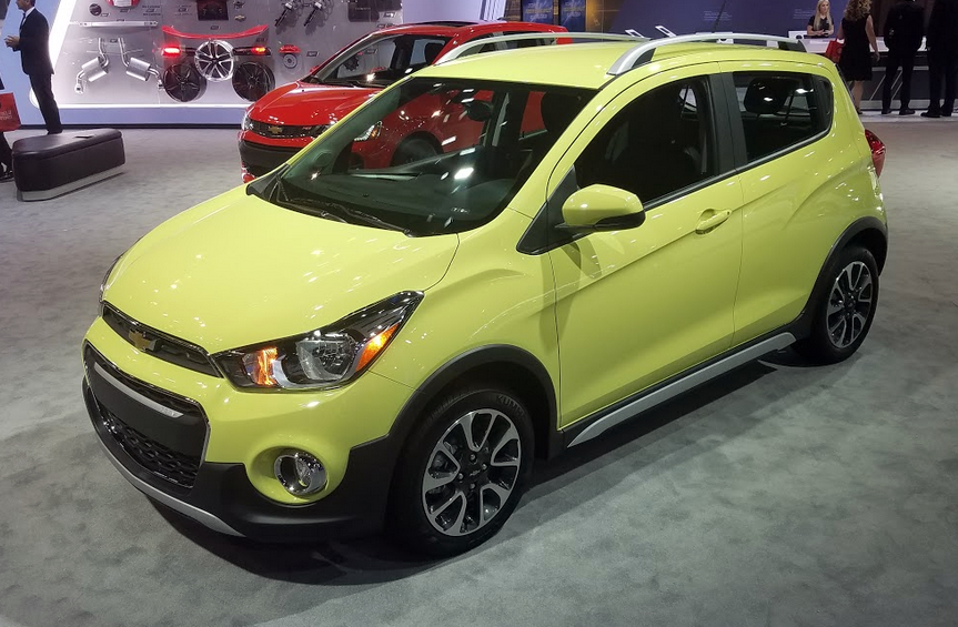 2017 Chevrolet Spark Activ in Brimstone