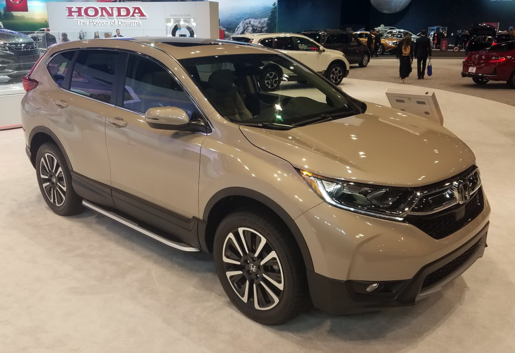 2017 Honda CR-V in Sandstorm