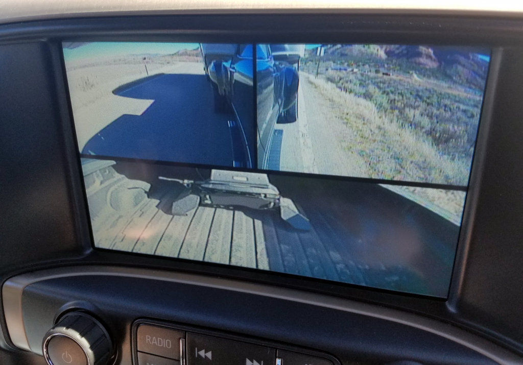 2017 GMC Sienna HD backup camera