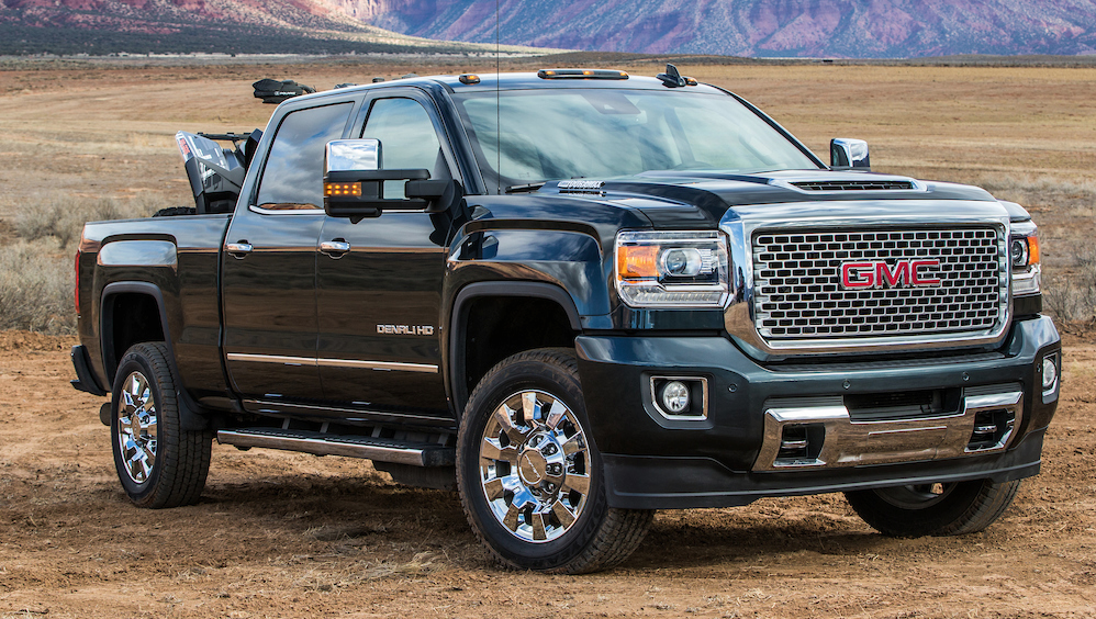 First Spin: 2017 GMC Sierra HD Duramax Diesel | The Daily ...