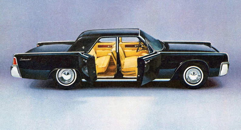1963 Lincoln Ad, Classic Ads From 1963