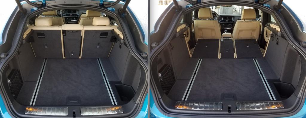 2017 BMW X4 Cabin