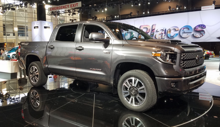 Chicago Auto Show Toyota Tundra Trd Sport The