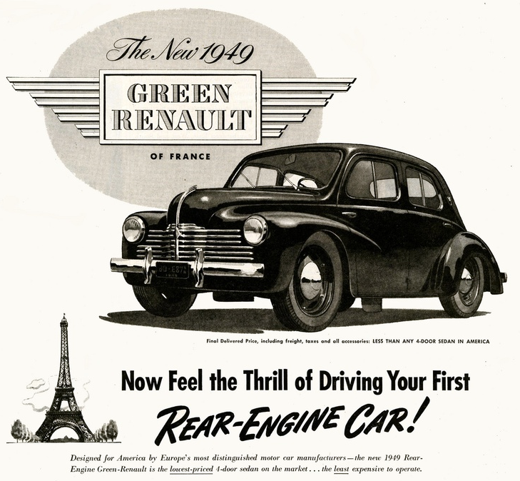 1949 Renault Ad