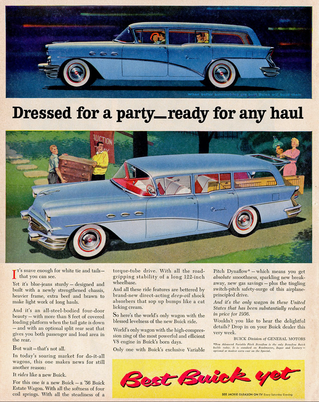1956 Buick Ad