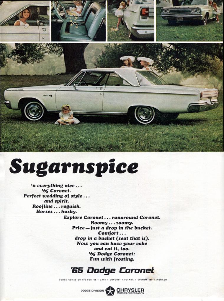 1965 Dodge Coronet Ad