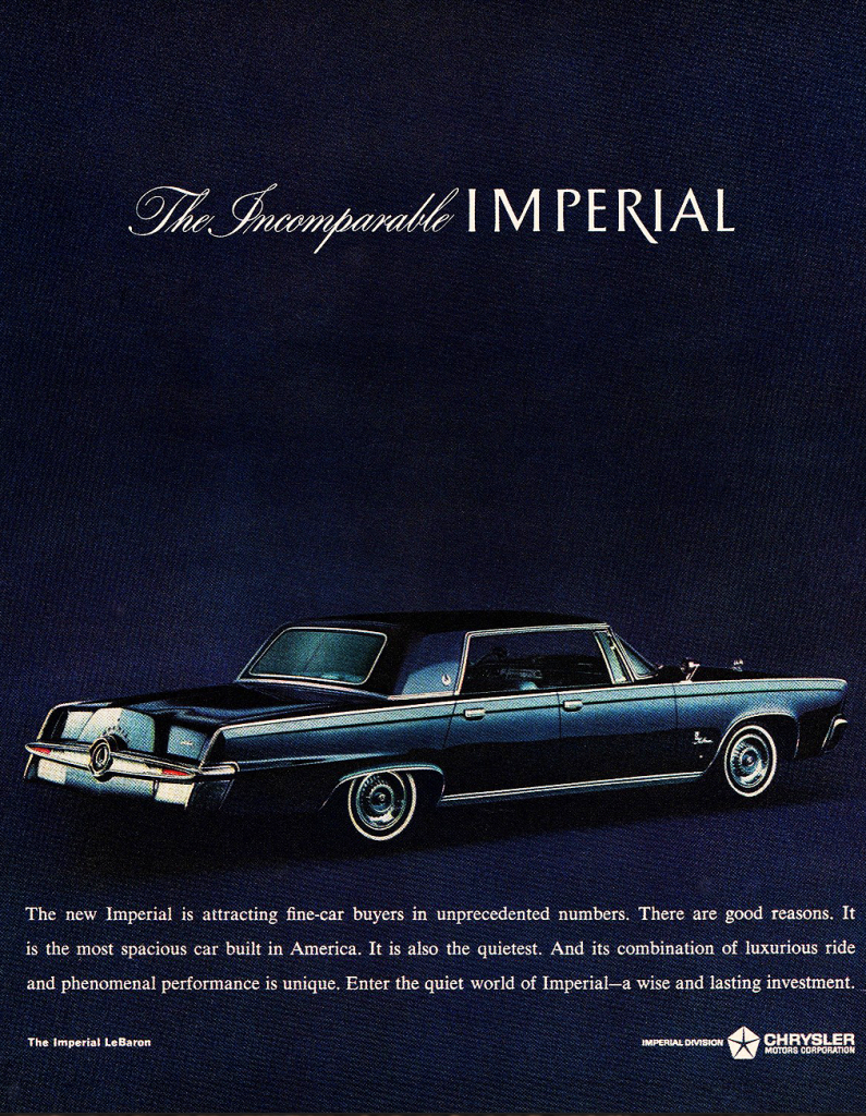 1964 Imperial Ad