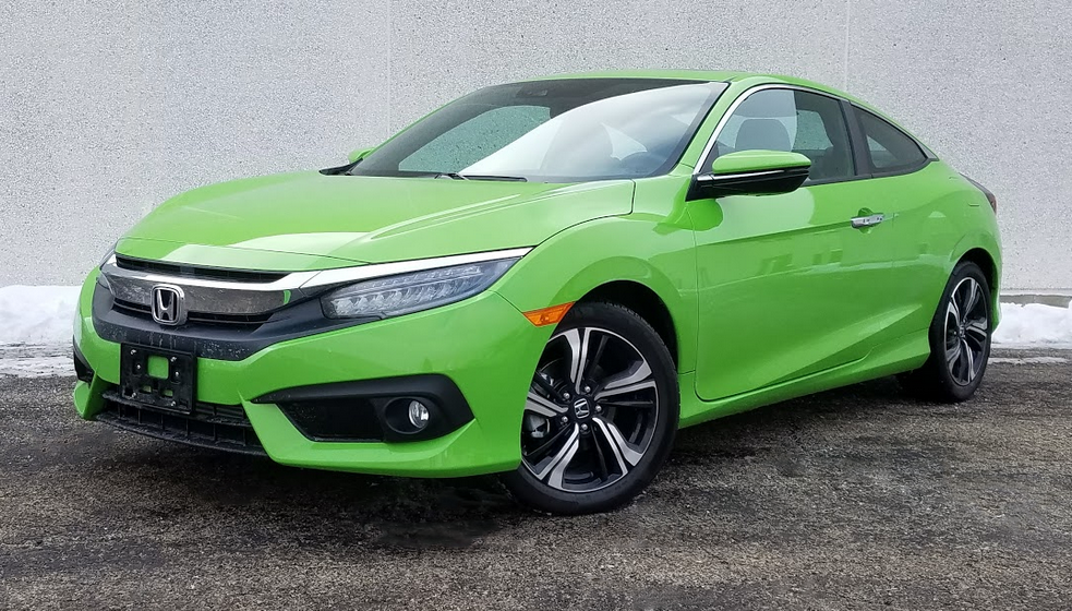 2017 Honda Civic Coupe in Energy Green